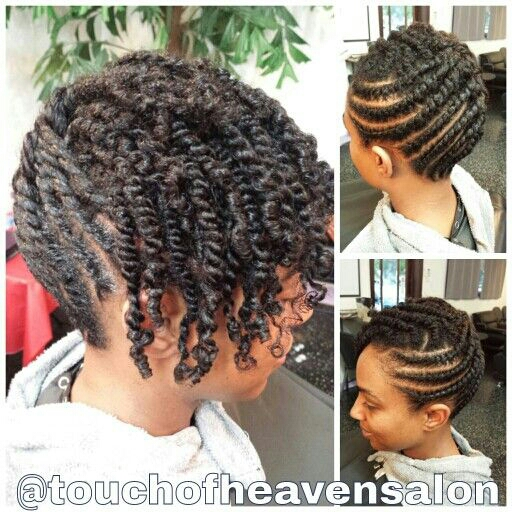 ... ) you can find a whole wide variety of natural hair styles on there
